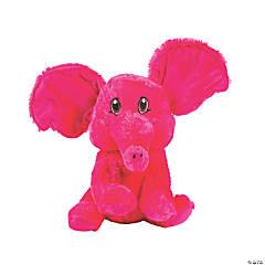 """10.5"""" Stuffed Elephant with Big Ears"""