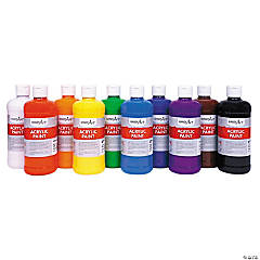 10 Color Awesome Acrylic Paint Set