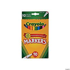 10 Color Crayola® Fine Line Markers
