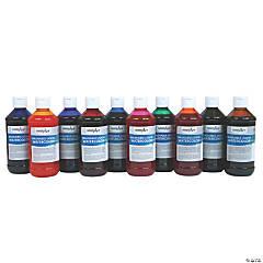 10 Color Liquid Watercolor Paint Set