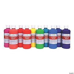 10 Color Tropical Acrylic Paint Set