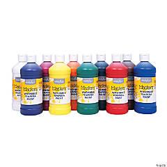 10 Color Washable Classic Tempera Paint Set