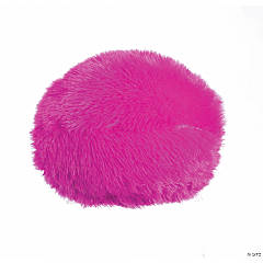 "10"" Plush Pink Gumball Pillow"