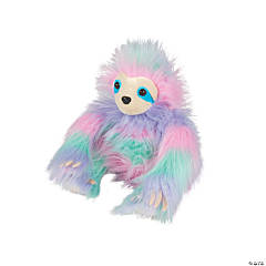 "10"" Sherman the Sherbert Stuffed Sloth"