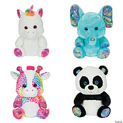 "10"" Sitting Stuffed Animal Assortment"