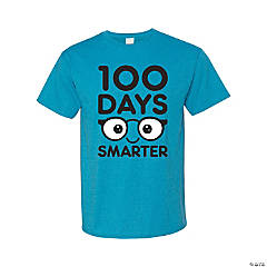 100 Days Smarter Adult's T-Shirt - Large