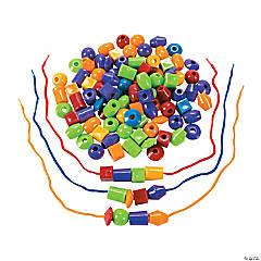 100 Jumbo Lacing Beads