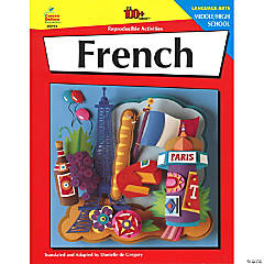 100+ Series™ Activity Book, French (Middle/High School)