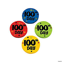 100th Day of School Erasers - 25 Pc.