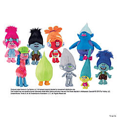 "11-17"" Plush Trolls Large Assortment"