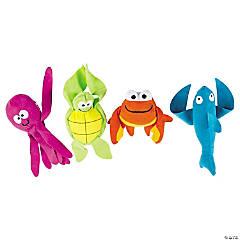 "11"" Long Arm Stuffed Sea Creatures"