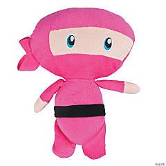 "11"" Pink Ninja Plush"