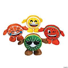 """12.5"""" Fruit Plush Emojis"""