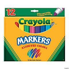 12-Color Crayola® Cone Tip Markers