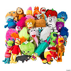 "12"" Plush Crane Assortment - 75% Licensed"