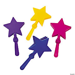 12 Star-Shaped Clappers