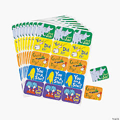 120 Dr. Seuss™ Character Success Stickers