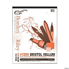 #120V Bristol Vellum Pad