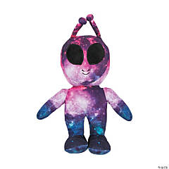 "13"" Galaxy Stuffed Alien"