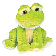 "13"" Sitting Stuffed Frog"