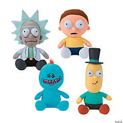 """14"""" Stuffed Rick and Morty Character"""