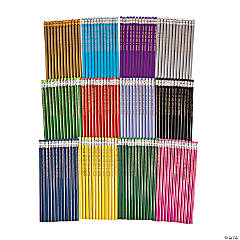 144 Pc. Super Mega Personalized Pencil Assortment
