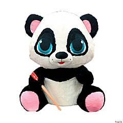 "15"" Stuffed Panda with Chopsticks"