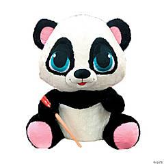 """15"""" Stuffed Panda with Chopsticks"""