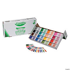 16-Color Crayola® 256 Pc. Regular Conical Marker Classpack®