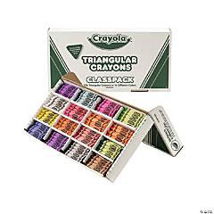16-Color Crayola® Triangular Crayons Classpack® - 256 Pc.