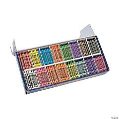 16-Color Crayon Classpack - 800 Pc.