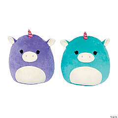 "16"" Squishmallows™ Stuffed Ace & Astrid the Unicorns - Large"