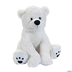 "16"" Stuffed Polar Bear"