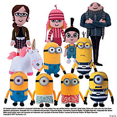 "17"" Plush Despicable Me™ Characters"