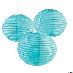 "18"" Light Blue Paper Lanterns"