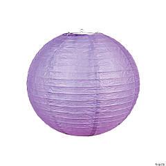 """18"""" Lilac Hanging Paper Lanterns"""