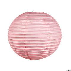 """18"""" Pink Paper Lanterns"""