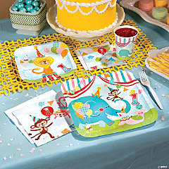 1st Birthday Circus Party Supplies