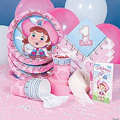 1st Birthday Cowgirl Party Supplies