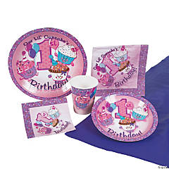 1st Birthday Cupcake Party Pack