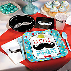 1st Birthday Little Man Party Supplies