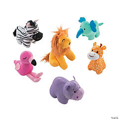 1st Birthday Party Zoo Stuffed Animals