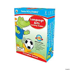1st Grade Language Arts Learning Games Set
