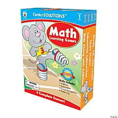 1st Grade Math Learning Games Set