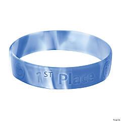 1st Place Rubber Bracelets