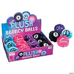 """2.5"""" Plush Bouncy Balls"""