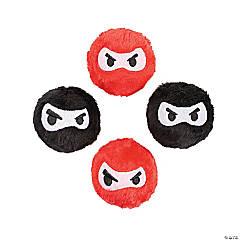 """2.5"""" Plush Ninja Bounce Balls"""