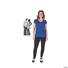 2 Ft. Custom Photo 2-Person Tabletop Cardboard Stand-Up