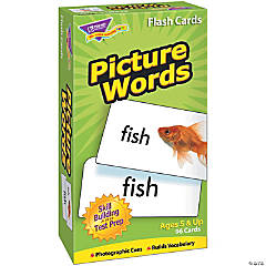 (2 Pk) Flash Cards Picture Words