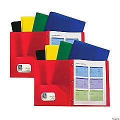 2-Pkt Heavyweight Portfolio Folder Multi